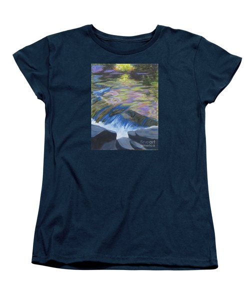 Fall Reflections Women's T-Shirt (Standard Cut) by Anne Marie Brown