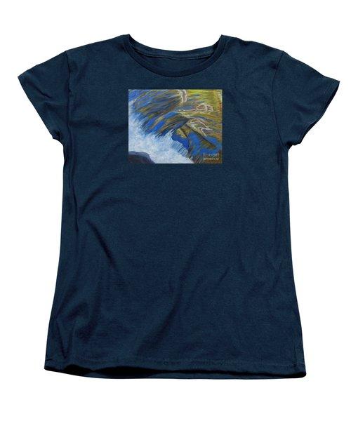 Fall Reflections II Women's T-Shirt (Standard Cut) by Anne Marie Brown