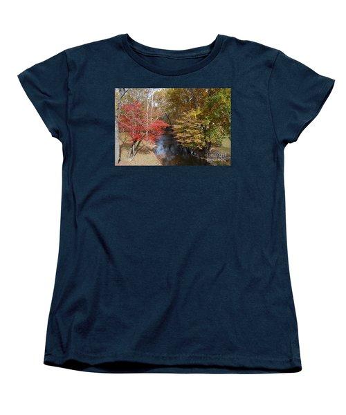 Fall Transition Women's T-Shirt (Standard Cut) by Eric Liller