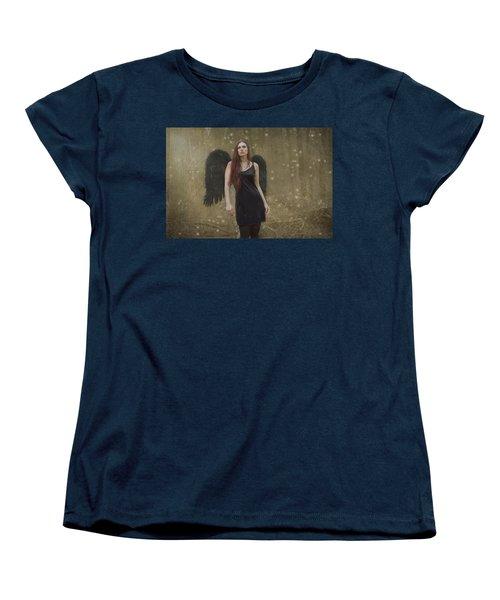 Fallen Angel Women's T-Shirt (Standard Cut) by Brian Hughes