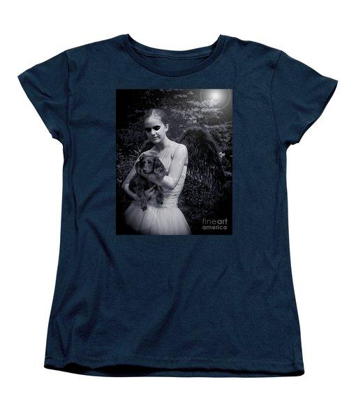Women's T-Shirt (Standard Cut) featuring the photograph Fallen Angel by Rebecca Margraf