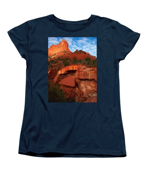 Women's T-Shirt (Standard Cut) featuring the photograph Fallen by James Peterson