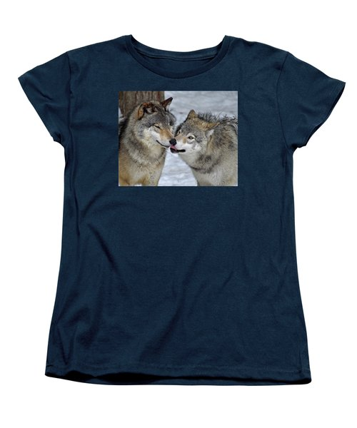 Women's T-Shirt (Standard Cut) featuring the photograph Familiar by Tony Beck