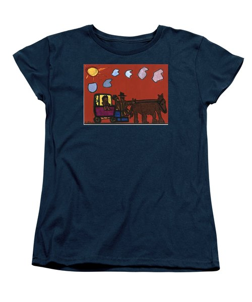 Family Transport Women's T-Shirt (Standard Cut) by Darrell Black