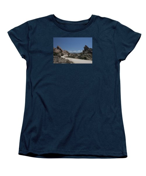 Famous Rocks Women's T-Shirt (Standard Cut) by Ivete Basso Photography