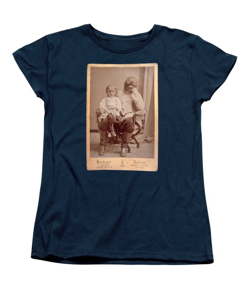 Famous Russian Sideshow Performer Jo-jo The Dog-faced Boy Women's T-Shirt (Standard Cut) by Celestial Images