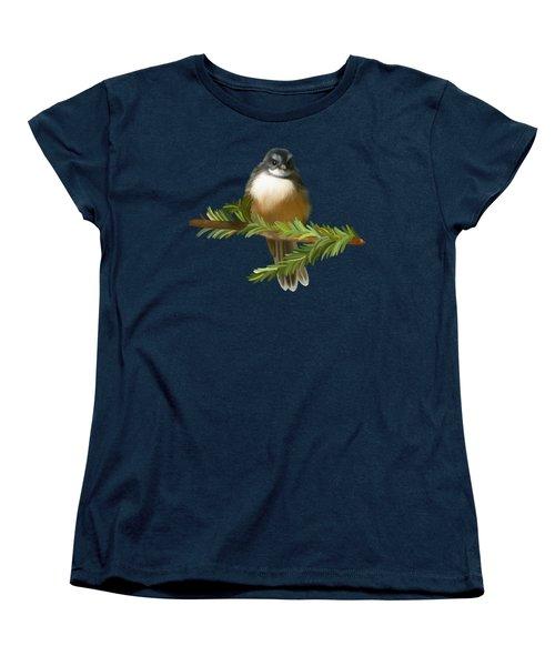 Fantail  Women's T-Shirt (Standard Cut) by Ivana Westin