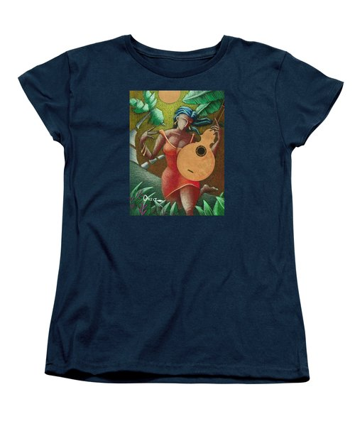 Fantasia Boricua Women's T-Shirt (Standard Cut) by Oscar Ortiz