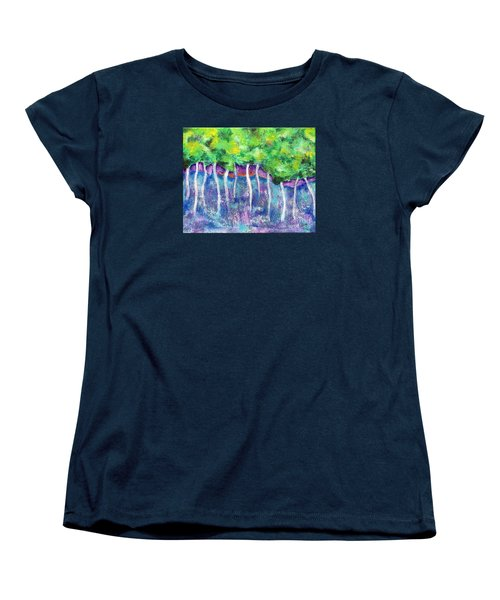 Fantasy Forest Women's T-Shirt (Standard Cut) by Elizabeth Fontaine-Barr