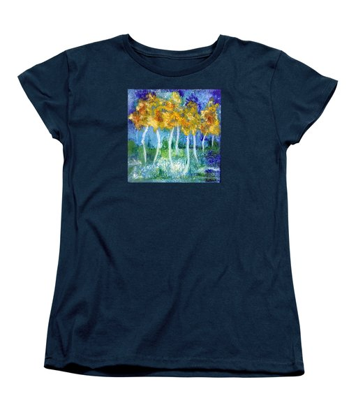 Fantasy Glade Women's T-Shirt (Standard Cut) by Elizabeth Fontaine-Barr