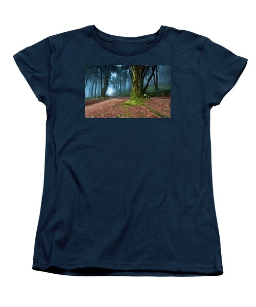 Women's T-Shirt (Standard Cut) featuring the photograph Fantasy by Jorge Maia