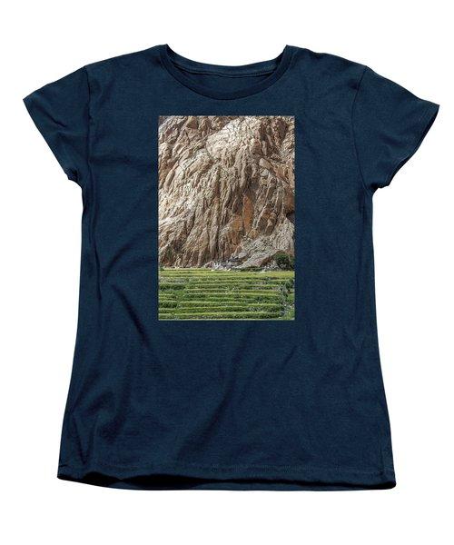 Farm House Women's T-Shirt (Standard Cut) by Hitendra SINKAR