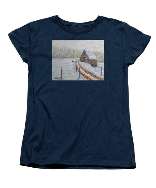 Farm Land Women's T-Shirt (Standard Cut) by Stanton Allaben