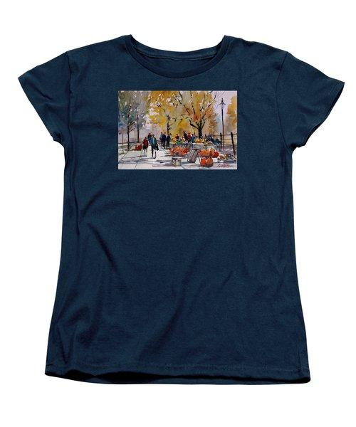 Farm Market - Menasha Women's T-Shirt (Standard Cut) by Ryan Radke
