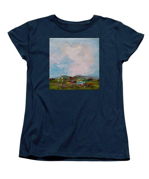 Farmland II Women's T-Shirt (Standard Cut) by Judith Rhue