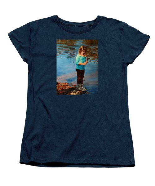 Fast Friends Women's T-Shirt (Standard Cut) by Glenn Beasley