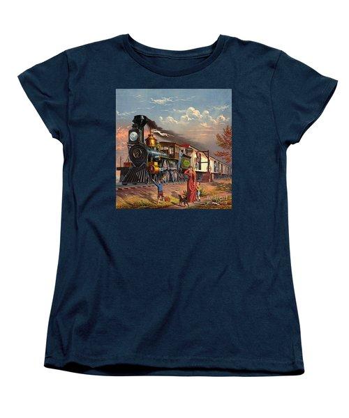 Fast Mail 1875 Women's T-Shirt (Standard Cut) by Padre Art