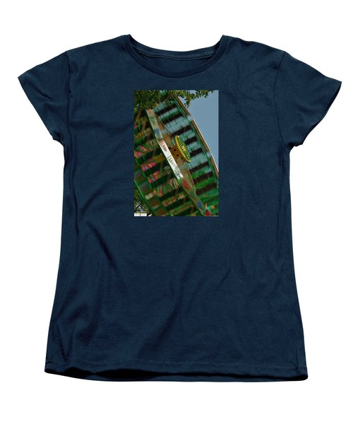 Women's T-Shirt (Standard Cut) featuring the photograph Faster And Faster We Go by Ramona Whiteaker