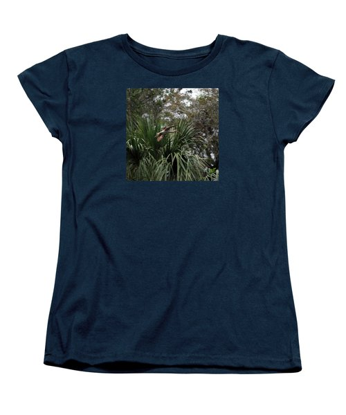 Feather 8-10 Women's T-Shirt (Standard Cut) by Skip Willits
