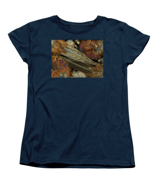 Featherdance Women's T-Shirt (Standard Cut) by Christian Slanec