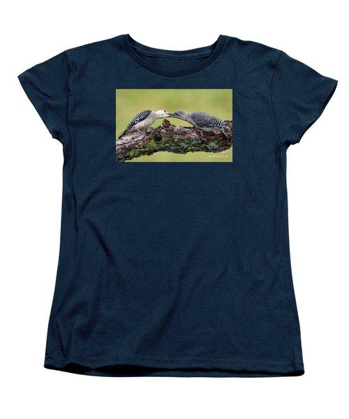 Feeding Time Women's T-Shirt (Standard Cut) by Ricky L Jones