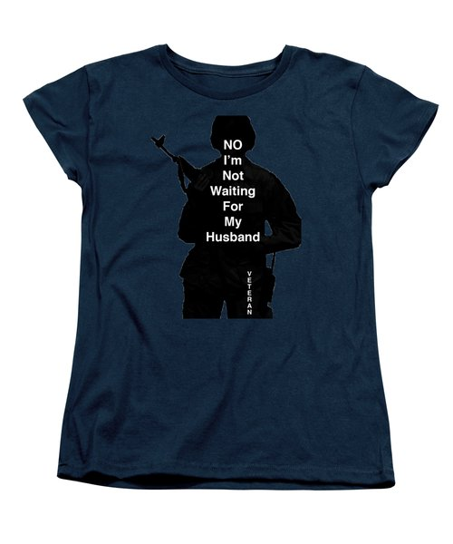 Female Veteran Women's T-Shirt (Standard Cut) by Melany Sarafis