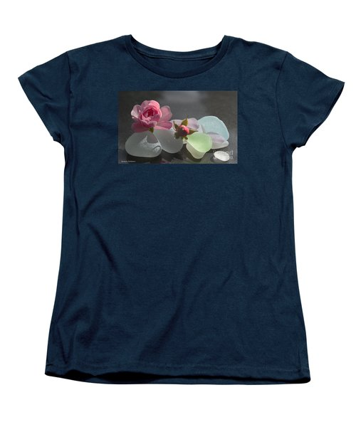 Feminine Women's T-Shirt (Standard Cut) by Barbara McMahon