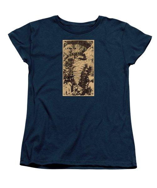 Fern Art No4 Women's T-Shirt (Standard Cut) by Bonnie Bruno