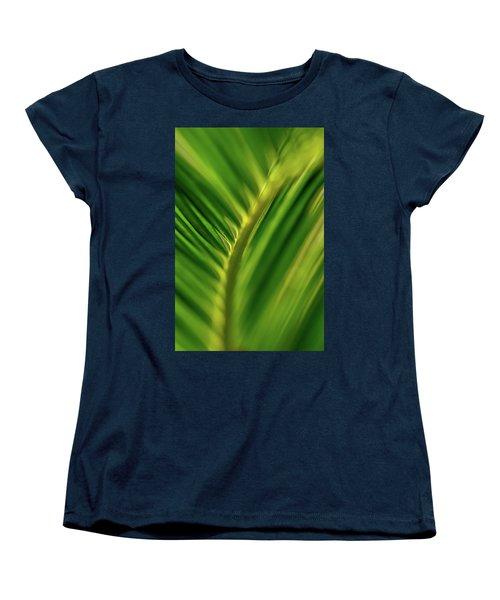 Fern Women's T-Shirt (Standard Cut) by Jay Stockhaus