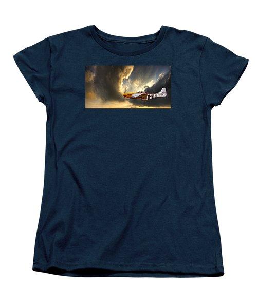 Women's T-Shirt (Standard Cut) featuring the photograph Ferocious Frankie by Meirion Matthias