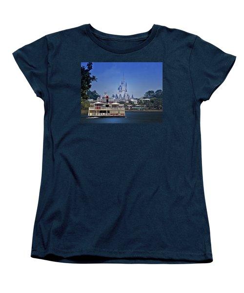 Ferry Boat Magic Kingdom Walt Disney World Mp Women's T-Shirt (Standard Cut) by Thomas Woolworth