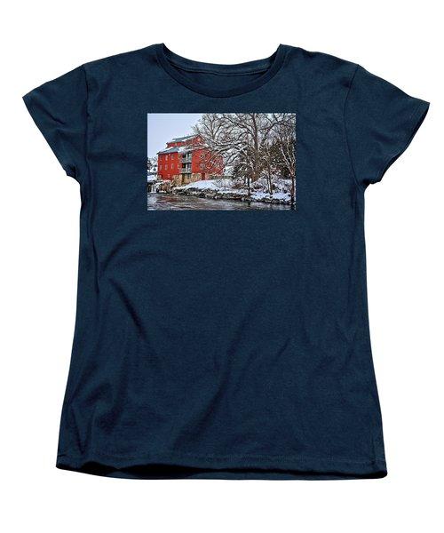 Fertile Winter Women's T-Shirt (Standard Cut) by Bonfire Photography