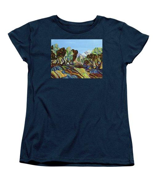 Fields Of Gold  Women's T-Shirt (Standard Cut) by Erika Pochybova