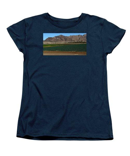 Fields Of Yuma Women's T-Shirt (Standard Cut) by Greg Patzer