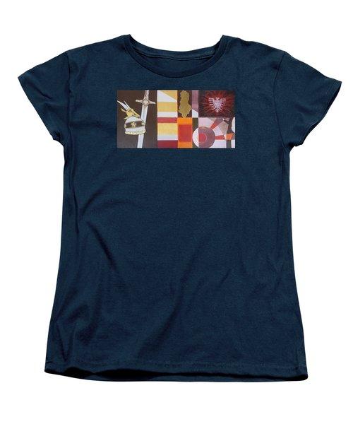 Figurativ Albanian Simbols Women's T-Shirt (Standard Cut) by Alban Dizdari