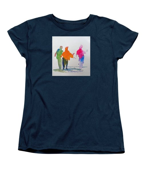 Figures In Motion  Women's T-Shirt (Standard Cut) by P Anthony Visco