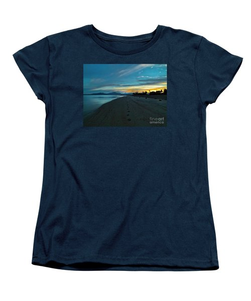 Fiji Dawn Women's T-Shirt (Standard Cut) by Karen Lewis