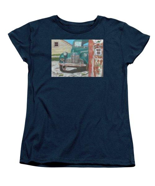 Fill 'er Up Women's T-Shirt (Standard Cut) by Arlene Crafton