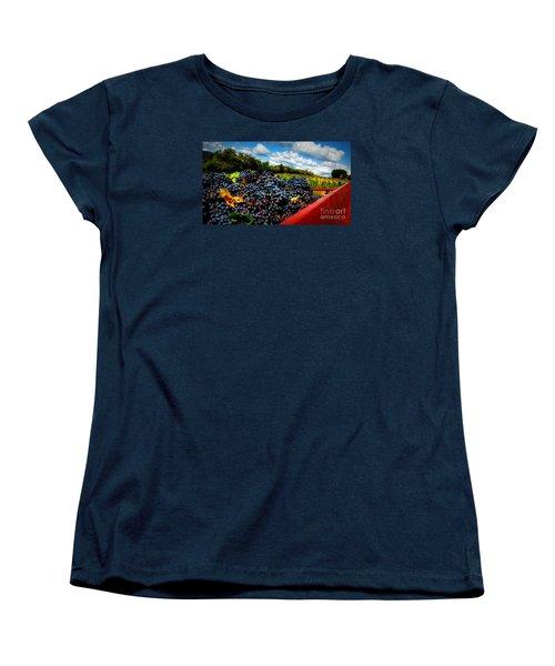 Filling The Red Wagon Women's T-Shirt (Standard Cut)