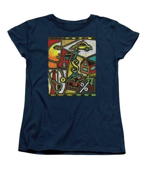 Finance And Medical Career Women's T-Shirt (Standard Cut) by Leon Zernitsky