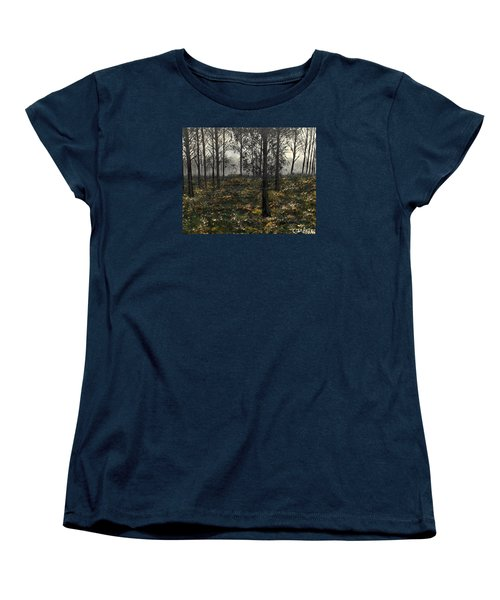 Find The Right Path Women's T-Shirt (Standard Cut) by Lisa Aerts