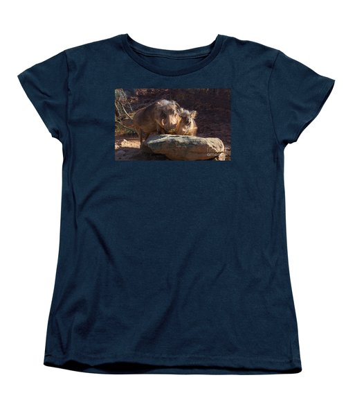 Fine Looking Couple Women's T-Shirt (Standard Cut) by Donna Brown