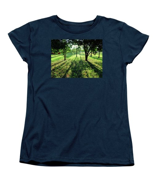 Women's T-Shirt (Standard Cut) featuring the photograph Fine Shadows by Beto Machado