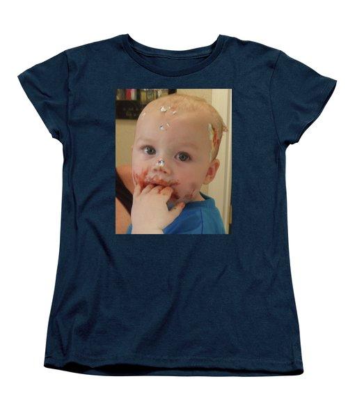 Finger Lickin Good Women's T-Shirt (Standard Cut) by Val Oconnor