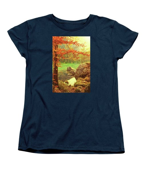 Fire And Water Women's T-Shirt (Standard Fit)