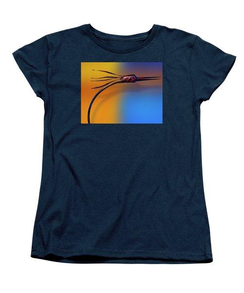 Women's T-Shirt (Standard Cut) featuring the photograph Fire Bird by Paul Wear