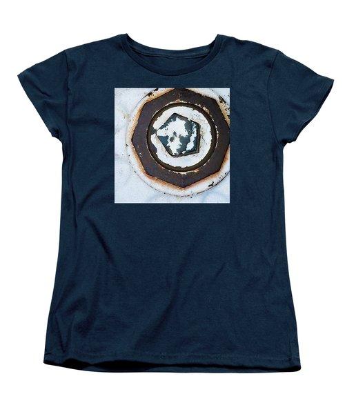 Fire Hydrant 9 Women's T-Shirt (Standard Cut) by Suzanne Lorenz