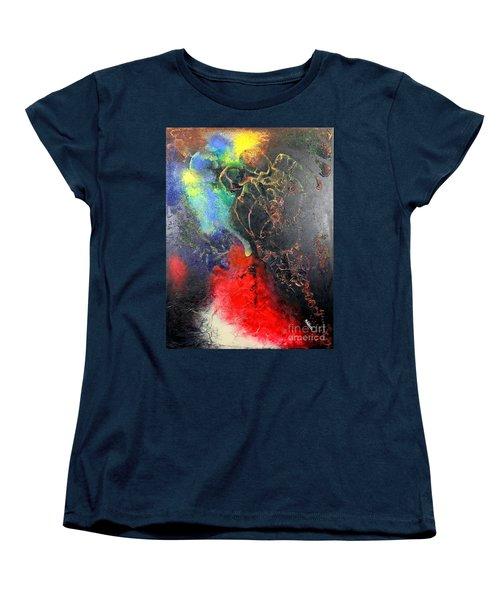 Fire Of Passion Women's T-Shirt (Standard Cut) by Farzali Babekhan