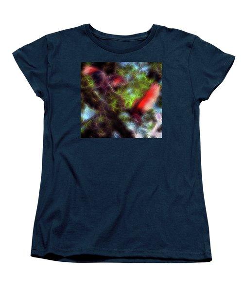 Fire Spirits 5 Women's T-Shirt (Standard Cut) by William Horden