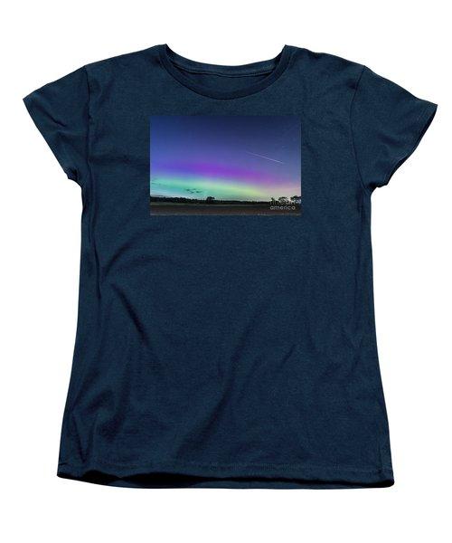 Fireball One Over The Farm Women's T-Shirt (Standard Cut) by Patrick Fennell